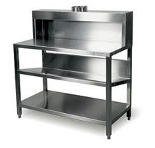 Picture of STAINLES STEEL TABLE - HT 180 cm without doors