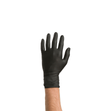 Picture of BLACK NITRIL GLOVES